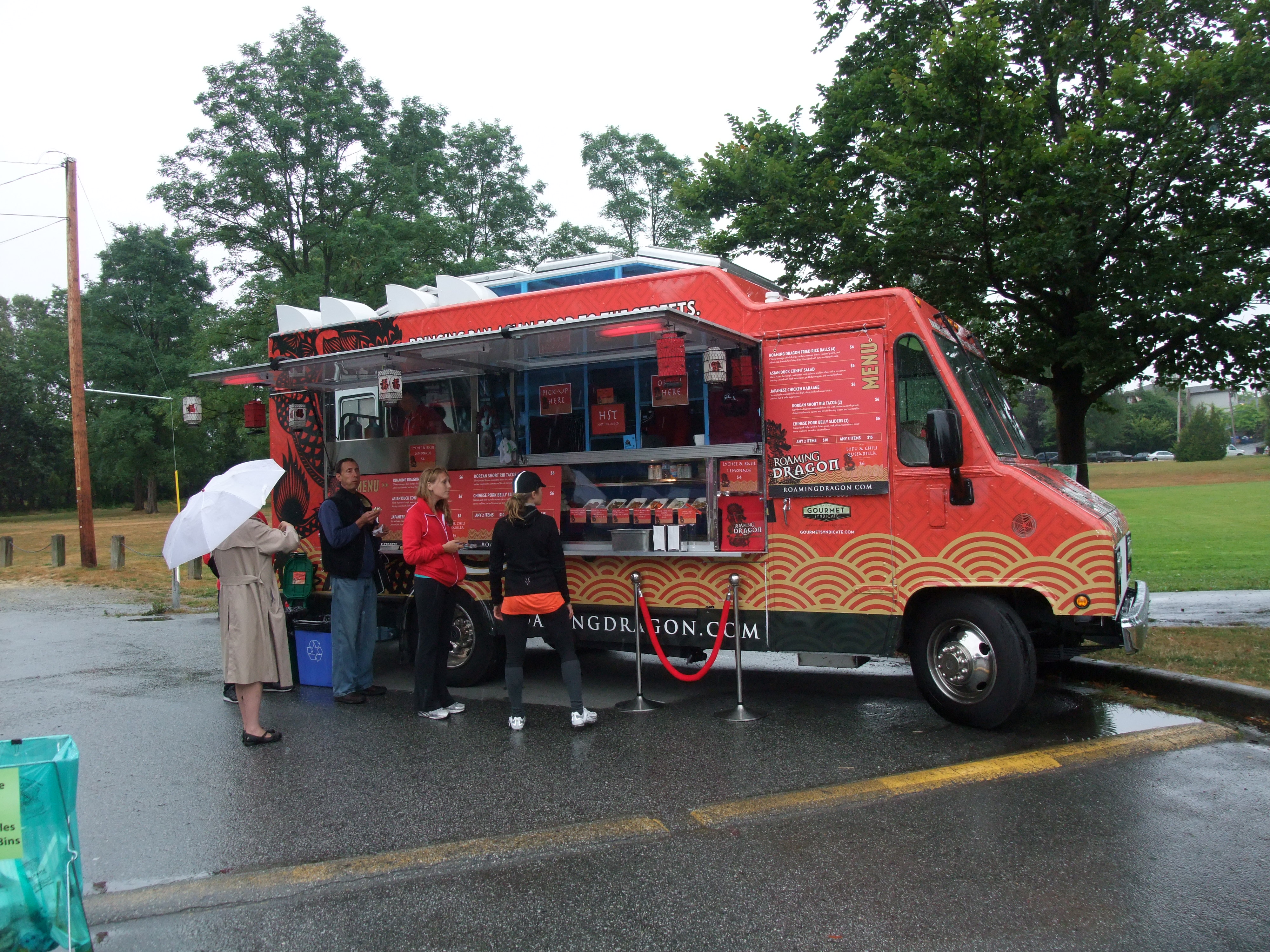 Chinese Street Food Food Truck