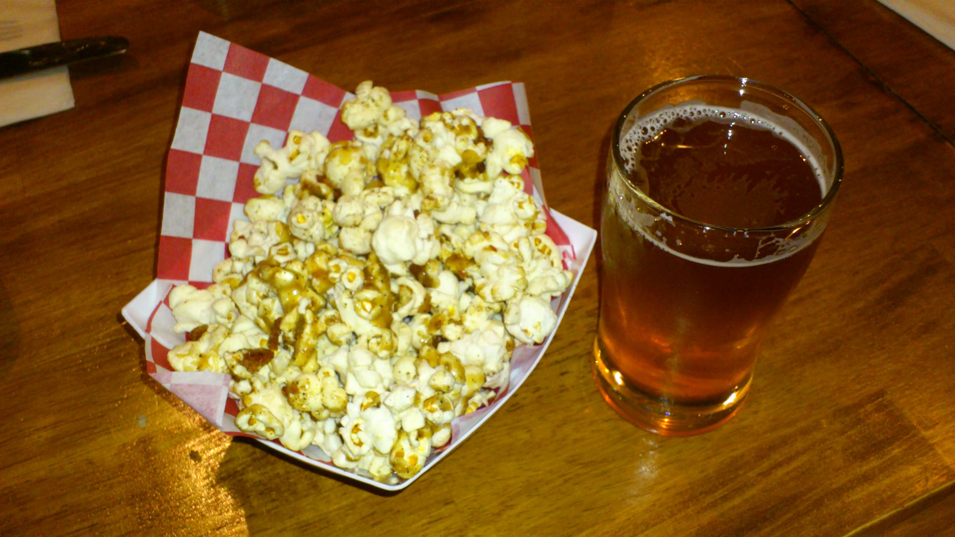 Sharkey's beer dinner with Alameda Brewing