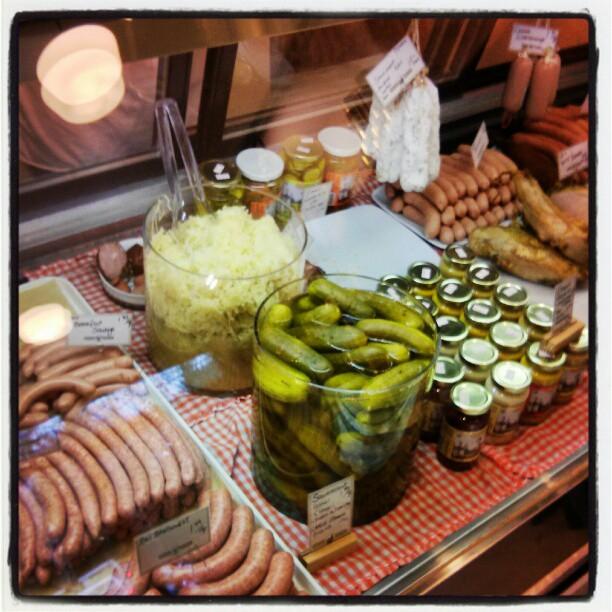 Pickles and sauerkraut