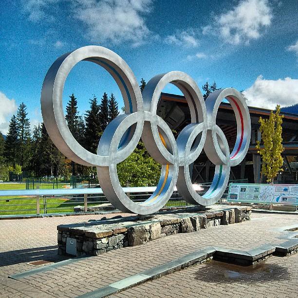 2010 Olympic rings
