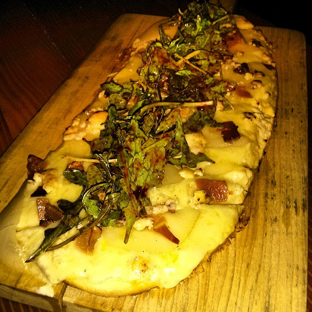 Pear and Stilton Flatbread