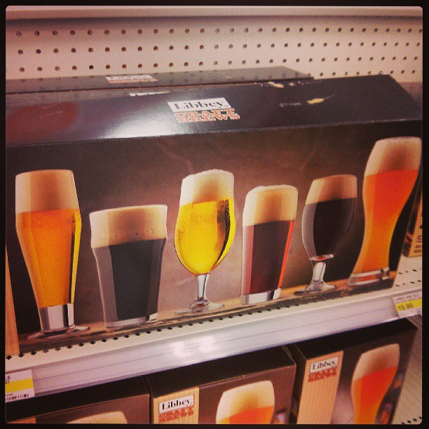 Craft beer glass set $24.99 - the same price as Sears