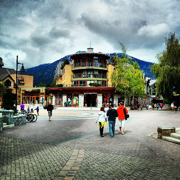 The Crystal, a Whistler Village landmark