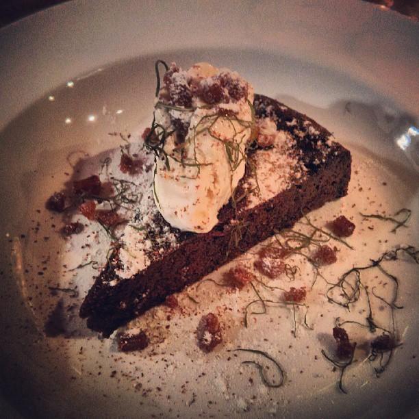 Dark Chocolate and Cardamom Torte
