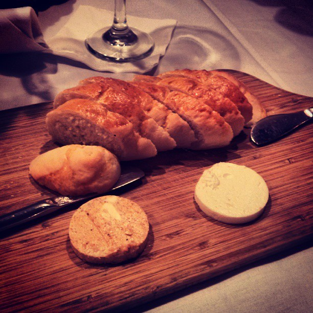 House made bread and butter