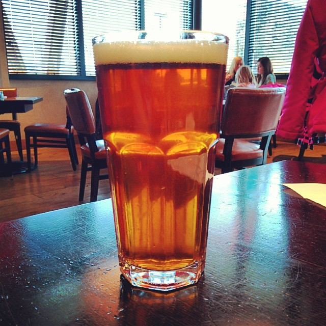 The Epic Split Belgian Strong Ale, one of the seasonal beers you'll find on tap.