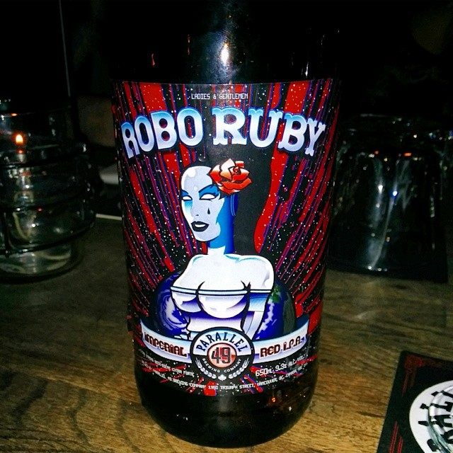 Don and I got to try the new Robo Ruby. Very nice indeed.
