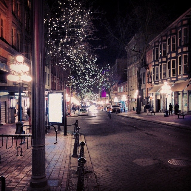 Gastown at night