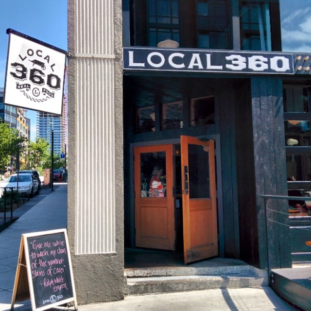 Local 360, 1st and Bell.