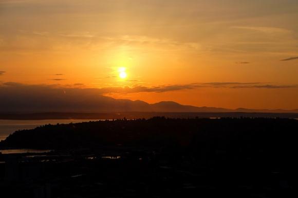 Sunset from SkyCity