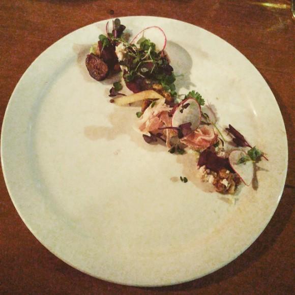 Fig and Walnut salad