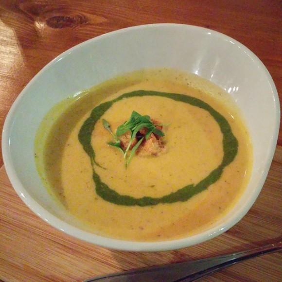 Saffron and Hemp soup