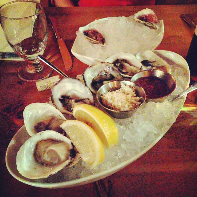 Oysters with a side of oysters.