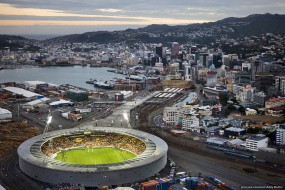 Downtown Wellington - Photo - Andy Radka