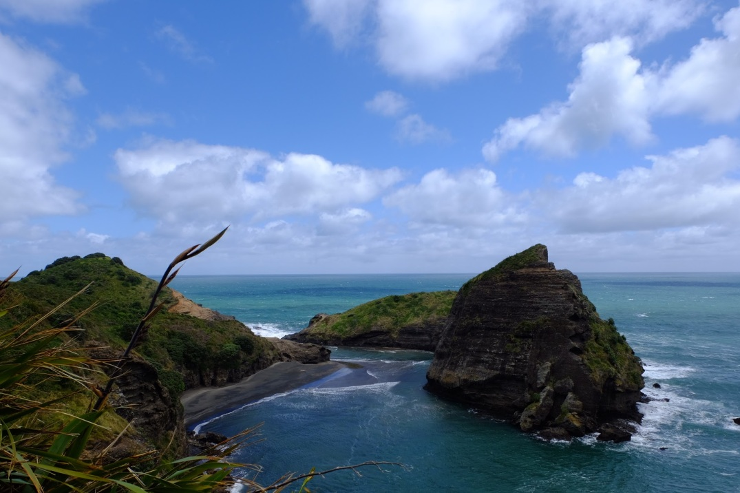 Taitomo Island from Tasman Lookout.