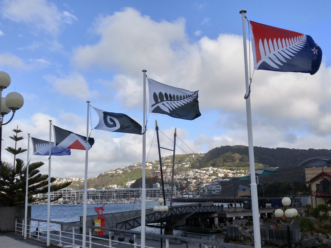 New Zealand was choosing a new national flag while I was visiting.