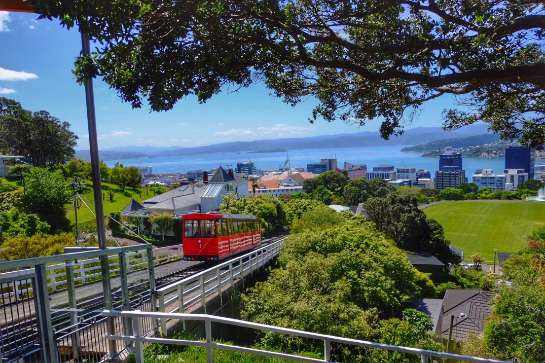 The Wellington Cable Car.