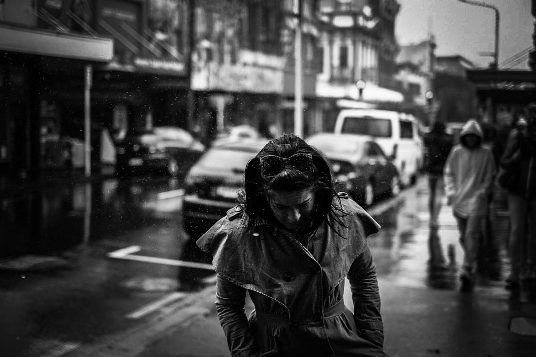 Rain on Cuba Street